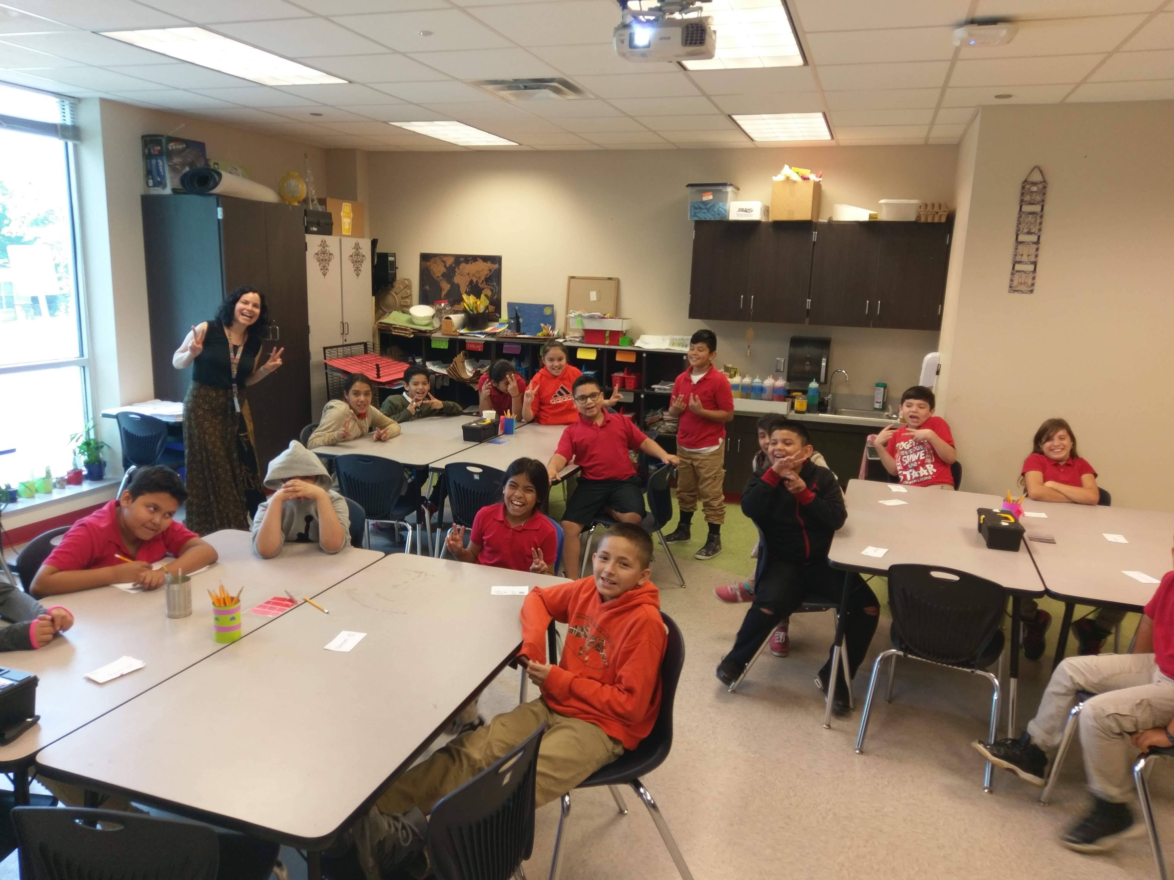 School Visit at Ogden Elementary, San Antonio, TX